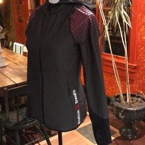 EUC Reebok CrossFit track jacket